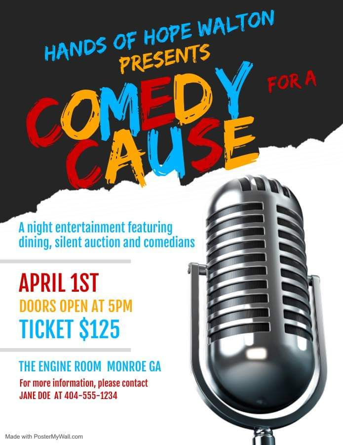 Hands of Hope Comedy for a Cause